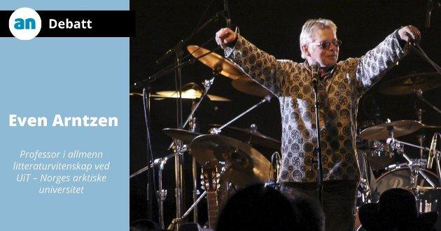 Knut Magne Myrland fra en konsert tilbake i 2012.