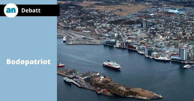 For oss som vokste opp på 50- og 60-tallet er det på mange måter fantastisk og gledelig det som har skjedd og skjer i Bodø sentrum