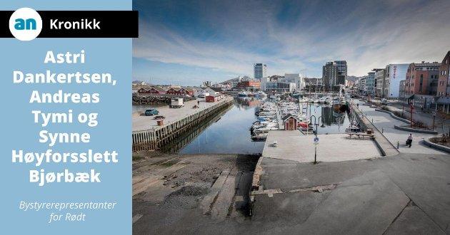Skal Moloveien og havna bli enda mer attraktiv enn den er i dag, må vi utvikle området på en måte som inkluderer hele byens befolkning.