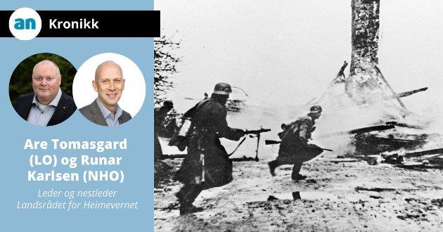 Kampene i Norge etter tysk invasjon 9. april 1940.