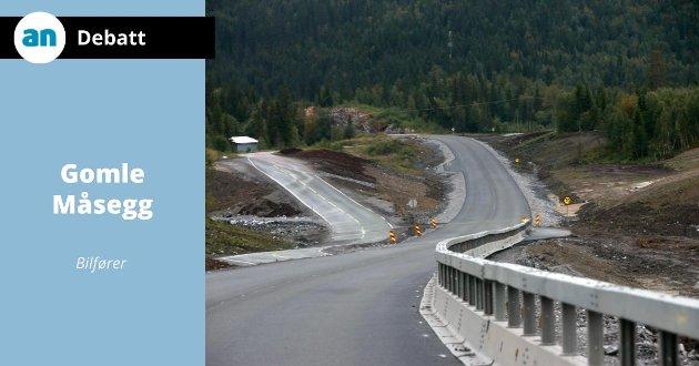 Fra byggingen av ny E6 ved Storforshei.