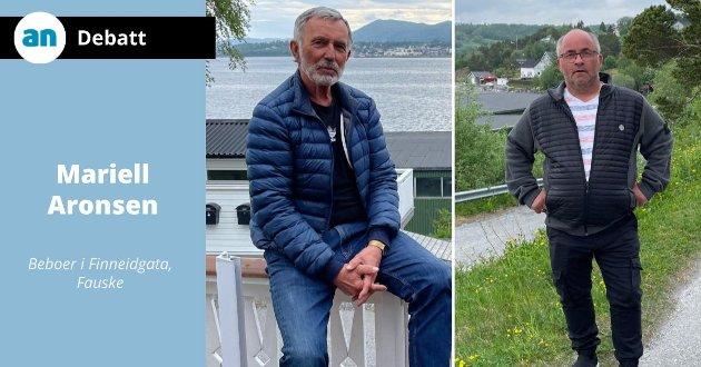 Harry Evjen og Dag Rugås.