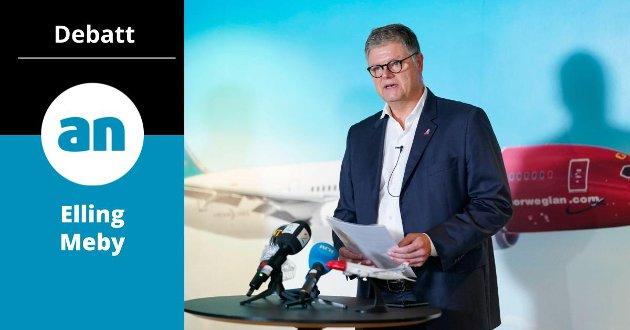 Avgåtte Norwegian-sjef Jacob  Schram.
