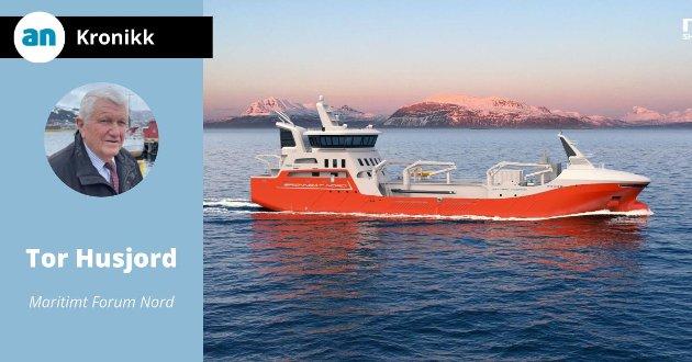 Dette er Brønnbåt Nord sin nyeste brønnbåt – kontrahert i mai 2021 og skal bygges og leveres i første halvår 2023.