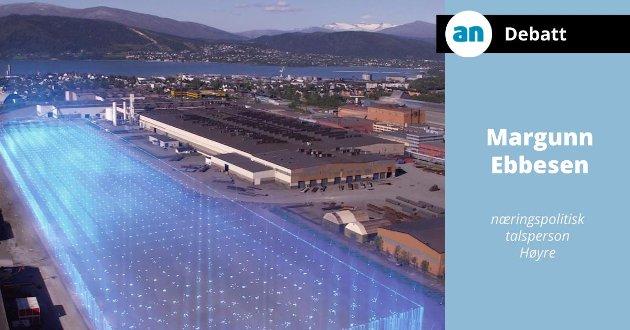 Mange store industrisatsinger skal gjennomføres som f.eks. batterifabrikken til Freyr i Mo i Rana.