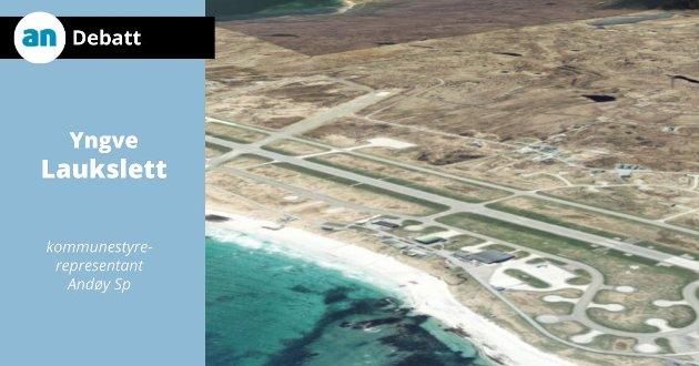 Saken omkring Andøya flystasjon bør i eventuelle framtidige regjeringsforhandlinger med Senterpartiet være enkel å løse.