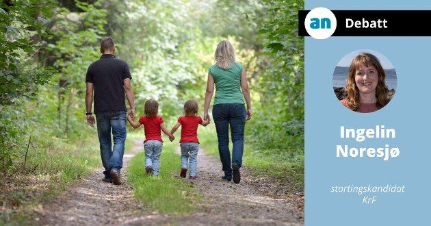 For KrF er det ingen tvil: Familier er forskjellige og må få større valgfrihet.