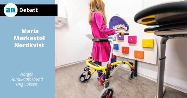 Forestill deg hvordan foreldre til et barn med funksjonsvariasjon reagerer når deres førstefødte ikke kommer inn døra.