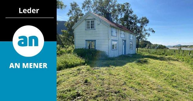 Det var stor interesse for denne eiendommen på Engeløya, som ble solgt skyhøyt over takst.