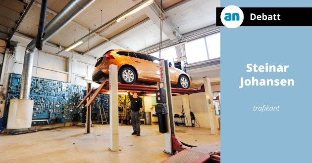 Med jevnlig spyling av bilens understell kan man forebygge mye av de skadene salt kan påføre biler.