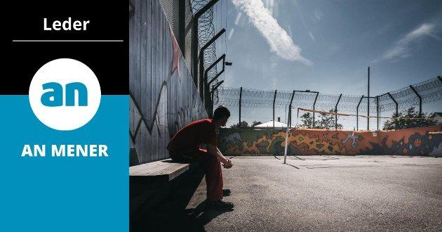 Bildet fra Bodø fengsel er tatt i en annen sammenheng.