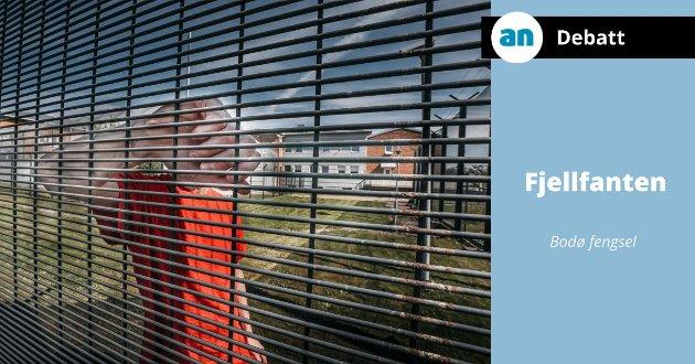 Mens vi venter på soning går vi fritt rundt i samfunnet, i fengselet blir mange innelåst 17 timer i døgnet, skriver en innsatt. Bildet er tatt i en annen sammenheng.