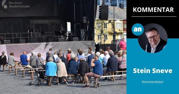 Musikkfestuka må rekruttere et yngre publikum, mener Stein Sneve.