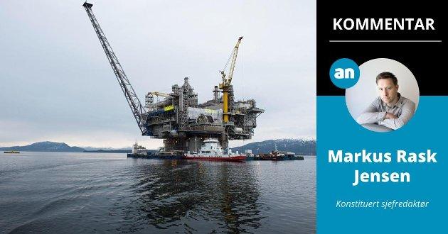 Skal Norge fortsette å lete etter olje? På bildet: Aasta Hansteen-plattformen under bygging i Digernessundet ved Stord.