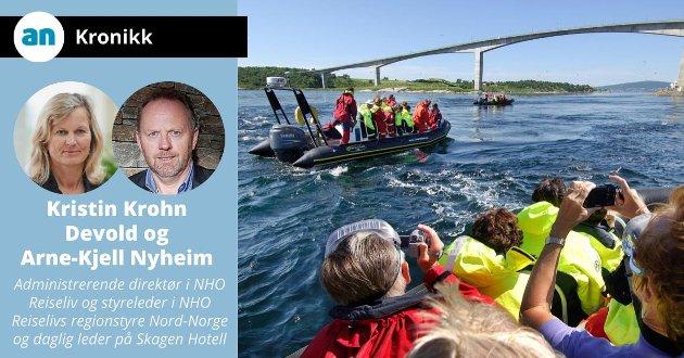 Saltstraumen: Rafting i Saltstraumen sammen med turister fra Hurtigruta.