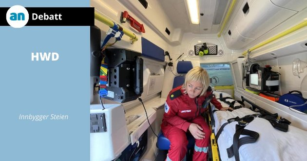 Å ha bare én ambulanse i Steigen er uhørt, mener innsenderen.