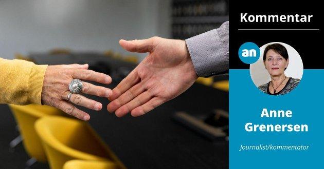 Finnes det noe mer symboltungt enn en åpen, utstrakt hånd?