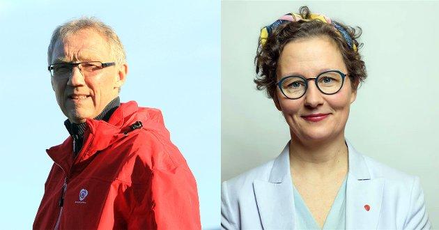 Arbeiderpartiets medlemmer i samferdselskomiteen i Troms og Finnmark fylkeskommune, Geir Ove Bakken og  Kristin Røymo