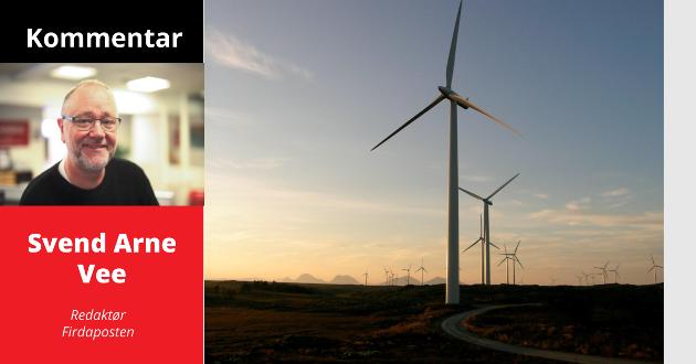 MAKT SOM FORPLIKTAR: Viss kommunar ropar på å få meir makt i vindkraftspørsmål, må dei ikkje bruke den makta til å selje seg til høgstbydande, skriv Firdaposten-redaktør Svend Arne Vee.