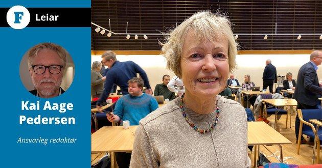 SVARAR: Firda-redaktør Kai Aage Pedersen svarar på kritikken som kom frå Kari Viken denne torsdagen.