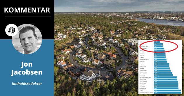 Buskogen og resten av Kråkerøy syd kommer desidert best ut i kommunens levekårskartlegging.