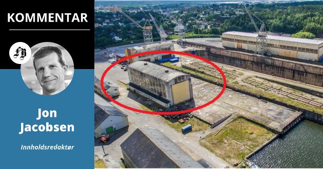 Nordisk Film planlegger å åpne et stort kinosenter i Sveisehall 1, kloss inntil tørrdokka på FMV.