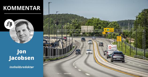 14 år etter det historiske bompengevedtaket i Fredrikstad bystyre, er dette det eneste håndfaste resultatet: Skarve 1.400 meter firefeltsvei.