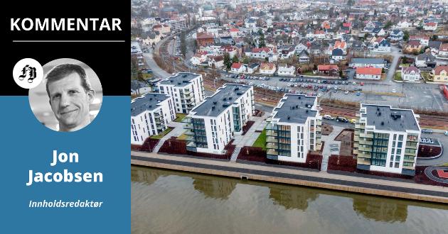 Arbeidet med å omtaksere 37.000 nye og gamle boliger i Fredrikstad er i full gang.