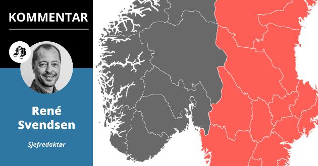 13 av de 15 regionene med høyest smittespredning i Europa akkurat nå er svenske.