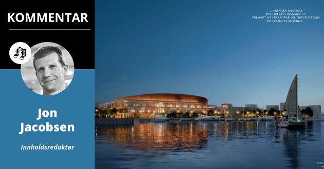 Prisen på Arena Fredrikstad har kommet opp i 887 millioner kroner. Det er en firedobling fra da planene først ble lansert i 2011.