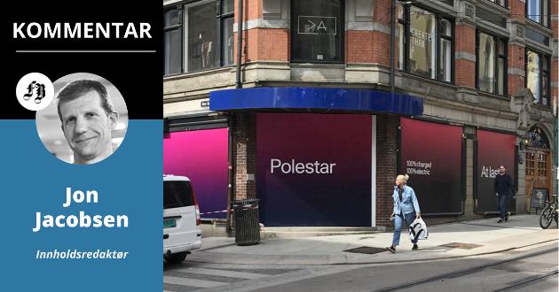Populære Polestar har etablert seg midt i Oslo sentrum. Det har også flere andre bilmerker.