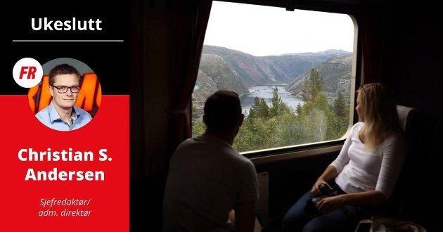 UKESLUTT: «Potensialet er stort, både sommer og vinter – om reiselivsnæringen nå griper muligheten. Nå er det viktigere enn noen gang at reiselivsaktørene i Narvik-regionen slår hodene sammen,» skriver Christian Senning Andersen.
