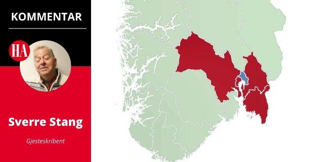 Sverre Stang, Viken, korona, nedstengning