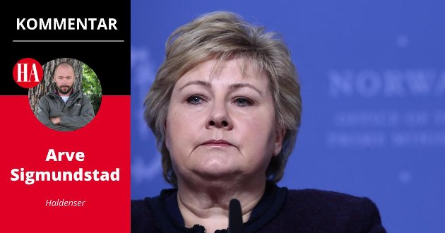 Erna Solberg, Arve Sigmundstad