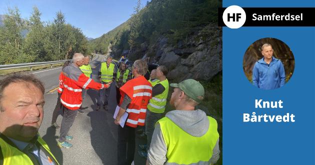 «I kampen for vegutbetring på rv 13 mellom Kinsarvik og Bu har eg tidlegare stilt spørsmålet om ordførar Roald Aga Haug kunne trylle», skriv Knut Bårtvedt.