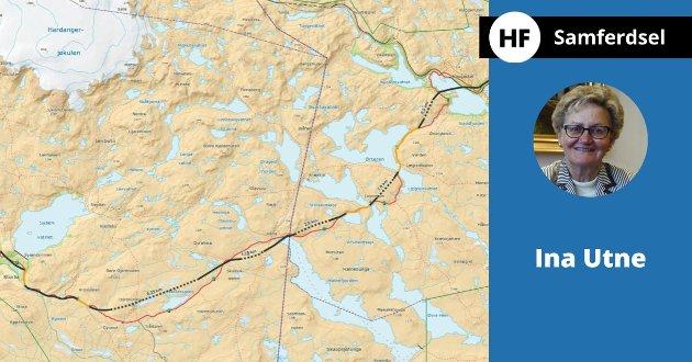 - Rv 7 trenger noen tuneller for å være sikker helårsvei, skriver Ina Utne.