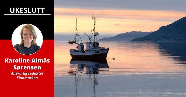 FISKE: Kvinnelige fiskere har den siste tiden fortalt om trakassering på jobb. Båten på bildet har ingenting med saken å gjøre.