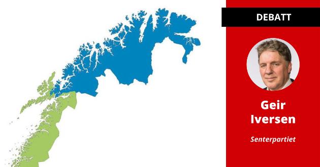 – Vi skal ikke tilbake til det gamle, vi skal fremover til det nye, skriver Geir Adelsten Iversen, stortingsrepresentant for Finnmark (SP).