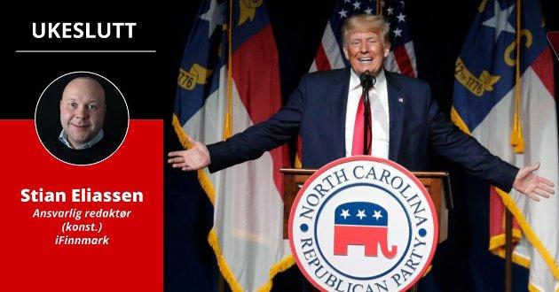 TRUMP: Ikke alle tar ytringene fra Donald Trump helt uten filter. – Vi skal vokte oss vel for at det samme kan skje også i våre lokalsamfunn, skriver ansvarlig redaktør Stian Eliassen.