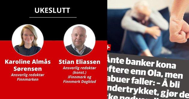 UKESLUTT: – Det er klart vi skal gjøre opp for oss når vi ser vi har gjort feil, skriver Karoline Almås Sørensen og Stian Eliassen.