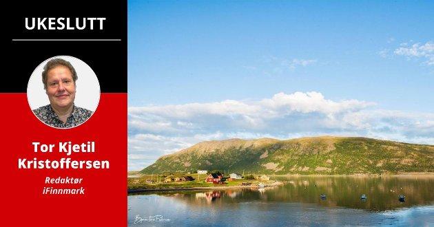 FINNMARK I BILDER: Finnmark har mange vakre motiver. Her fra Smiervuotna, eller Smørfjord om du vil.