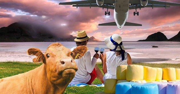 """""""Det er ikke sikkert asfalt og jetfly er det man først og fremst drømmer om når man ønsker seg tilbake til hjemplassen."""""""