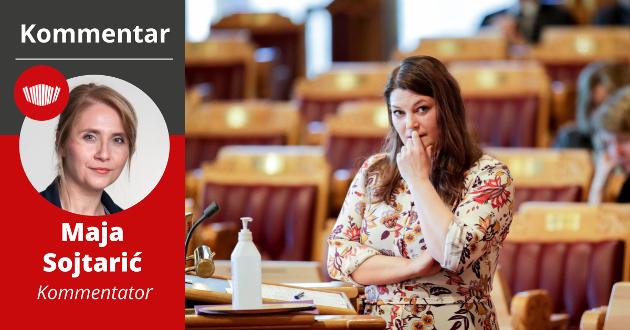 ABORT: Cecilie Myrseth, helsepolitisk talsperson for Ap, får ikke en lett oppgave de neste fire årene. Hun skal forsvare både partiets programfestede standpunkt om abort, og en regjeringsplattform som ikke støtter det standpunktet.