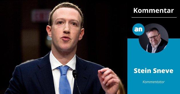 TØFF UKE: – Facebook har gått gjennom en svært så tøff uke, skriver Stein Sneve, som i denne kommentaren skriver om tre ulike måter Facebook kan stilles ansvarlig på.
