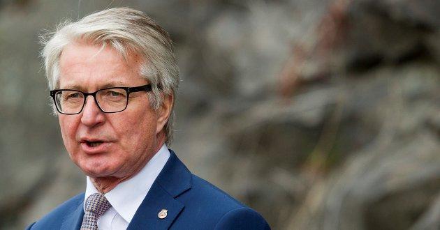 KRITISK: Tidligere Oslo-ordfører Fabian Stang lar seg ikke imponere av Obos sin utvikling.