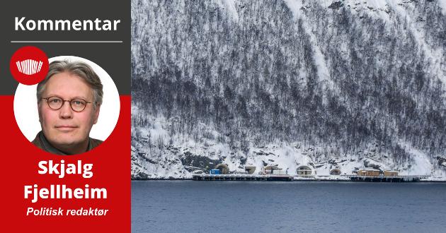 Støyen rundt ubåt-anløpene på Grøtsund har noen spor som tydelig leder et tiår tilbake i tid. Det hele er en konsekvens av en av de svakest begrunnede beslutningene i norsk forsvarspolitikk i moderne tid; at ubåtbasen Olavsvern (bildet) ble lagt og ned og solgt.