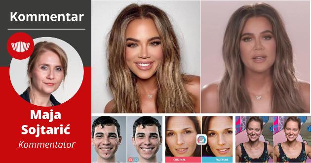 En av de mest berømte påvirkerne i sosiale medier er realitystjernen Khloe Kardashian, som ofte beskyldes for bilderetusjering. Bilderetusjering fører til stort kroppspress, og apper som Facetune har blitt veldig populære blant vanlige brukere av sosiale medier.