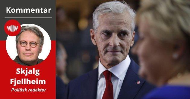 I SPAGATEN:– Vi kan i verste fall få en utvikling, der Arbeiderpartiet som historisk storkoalisjon mellom by og land, smuldrer opp, skriver Skjalg Fjellheim.