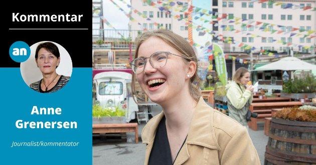 Talsperson for Grønn Ungdom, Hulda Holtvedt,  er en svært dyktig ungdomspolitiker som har måttet tåle mye for sitt engasjement.