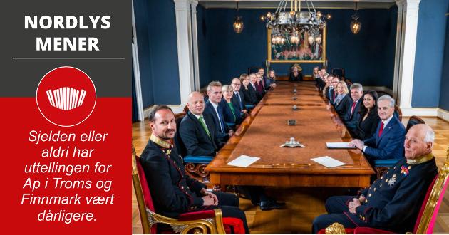 Regjeringen Støre møter kongen og kronprinsen i sitt første statsråd på Slottet torsdag.